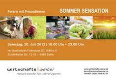 Wirtschaftsweiber e.V.: Summer Sensation Sommerfest in Berlin Frohnau am 28.7.2012