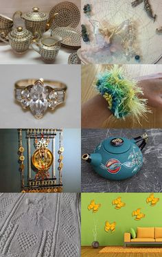 SOME BLING AT TEA TIME...............Gratitude Treasury by Pat Peters on Etsy--Pinned with TreasuryPin.com