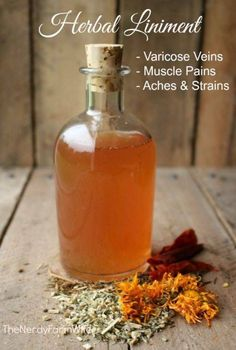 How to Make Herbal Liniment