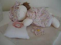 Resultado de imagem para molde de bonecas de pano deitada