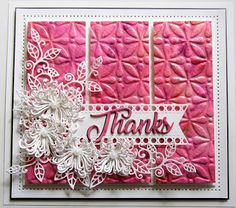 PartiCraft (Participate In Craft): Thanks Pom Pom Flowers, Sue Wilson, Happy New Year Everyone, Crafts Beautiful, Flag Decor, Embossing Folder, Pixie, Sprinkles, My Favorite Things