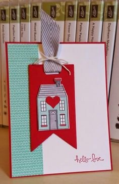 Stampin ' Up!, Holiday Home, Homemade Holidays-uses the little heart stamp that comes with the set.