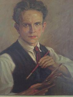 Self-portrait of my father. Joris Van Elst. ( 1908-1991)