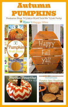 Autumn Pumpkins via Mama's Happy Hive
