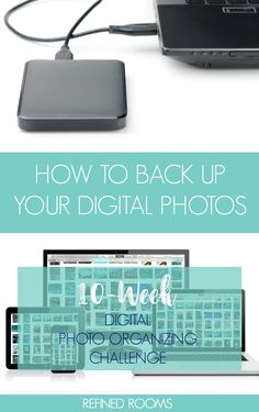 Creating a Digital Photo Backup {Digital Photo Organizing Challenge} Learn how to backup your digital photos as part of the Digital Photo Organizing Challenge Photography Lessons, Digital Photography, Iphone Photography, Urban Photography, White Photography, Scenic Photography, Photography Projects, Aerial Photography, Night Photography