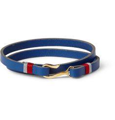 MiansaiFoksol Leather and Metal Hook Bracelet