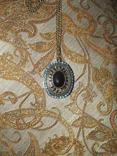 Vintage Long Necklace with Eye of Providence Pendant   £5.00  Visit Bea Boutique shop etsy.com/shop/beaboutiqueuk