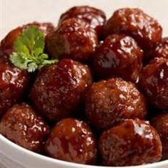 Bavarian Style Meatballs
