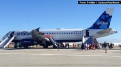 A JetBlue flight with 147 people aboard made an emergency landing at a California airport Thursday after an issue with an engine, the airline said.