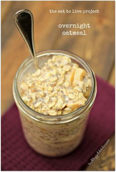 Healthy Girl's Kitchen: The Eat to Live Cookbook Project: Overnight Oatmeal