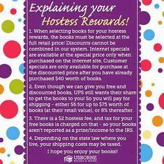 Explaining Your Hostess Rewards