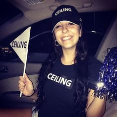 Ceiling Fan | 23 Halloween Costume Ideas For The Pun-Lover In You #punny #lol