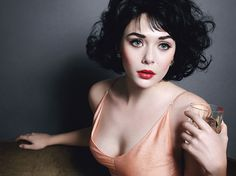I love this so much!  Elizabeth Olsen shot by Mario Sorrenti for W magazine (styling by Edward Enninful).