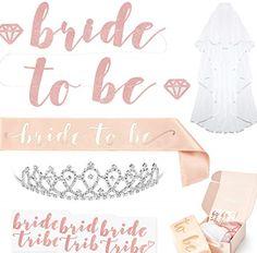 Rose gold bachelorette decoration party kit. Bachelorette Party Planning 8afc0c03dcfa