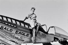 "P-51 Mustang - ""Bald Eagle""."