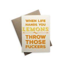 Spunky, funky greeting cards from Tiramisu Paperie. Funny Cards For Friends, Tiramisu, Greeting Cards, Products, Tiramisu Cake, Gadget
