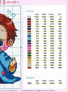 GRAFICOS SODA COREA ,,, SUPER LINDOS (pág. 12) | Aprender manualidades es facilisimo.com