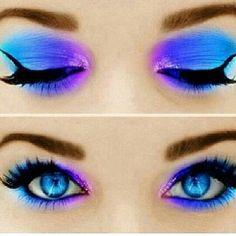 fantasy look: eyes