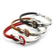Find More Bangles Information about Wholesale Fashion Titanium Steel Bracelet&Bangles 3 Color Top Quality Leather Bracelets for Women Men Silver Plated Jewelry Gift,High Quality bracelet anode,China bracelet bike Suppliers, Cheap bracelet lucky from MSX Fashion Jewelry on Aliexpress.com