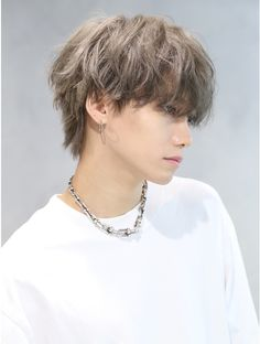 Kpop Hair Color, Men Hair Color, Messy Short Hair, Asian Short Hair, Mens Messy Hairstyles, Haircuts For Men, Shot Hair Styles, Long Hair Styles, Asian Haircut