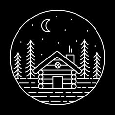 Why You Should Consider Buying a Log Cabin - Rustic Design Christmas Lodge, Christmas Card Crafts, Cheap Carpet, Aesthetic Drawing, Black And White Illustration, Cabins In The Woods, Doodle Drawings, Rustic Design, Graphic Design Illustration