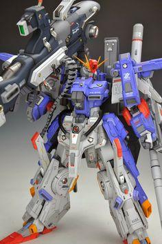 Utopia Cast 1/72 FAZZ animated version - Custom Build | Gundam Kits Collection News and Reviews