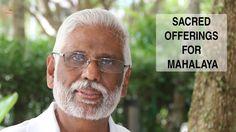 Dr. Pillai Speaks about Mahalaya Tarpanam - Part 2