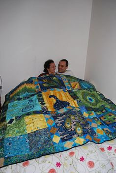 Wedding quilt for Guido and Conchita