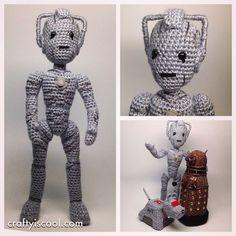 Doctor Who Crochet Amigurumi from CraftyIsCool - Cyber-Man