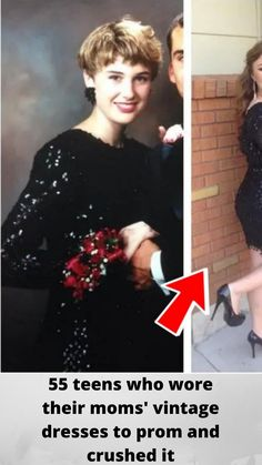 55 teens who wore their #moms' vintage dresses to #prom and #crushed it Wtf Funny, Funny Fails, Hilarious, Celebrity Moms, Celebrity Photos, Celebrity Style, Best Joker Quotes, Coachella Hair, Celebrity Costumes