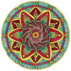 Coloriage Mandala Couleur.469 Meilleures Images Du Tableau Mandala Couleur En 2019
