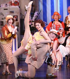 Sutton Foster in The Drowsy Chaperone