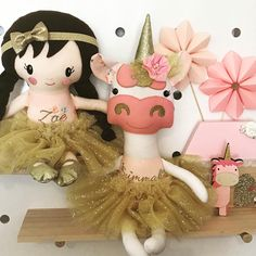 Matching dolly and unicorn in pink and gold  Busy day today with sewing and celebrating my birthday !! Had a lovely day with my little family!! #dollsanddaydreams #dollmaking #michaelmiller #goldandglitter #glittergold #tutuandtulle #matchingdolls #unicorndoll #ballerinadoll #handmadedolls #handmadegifts #girlstoys #girlsdecor #keepsakedoll #lovemysewing #lovehandmade #busymum #busylife