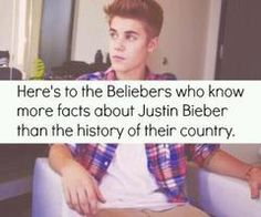 so pretty much all of us, I know more about JUstin then I know about myself