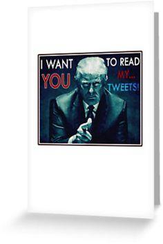 TRUMP: READ MY TWEETS