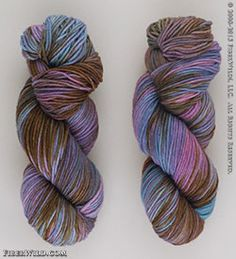 """Madelinetosh's """"Tosh DK"""" is a soft and yummy yarn, dyed in the luscious shades Madelinetosh is known for. Machine washable, this yarn is fantastic for sweaters or accessories! Blue Brown, Pink Blue, Merino Wool, Ravelry, Cathedral, Socks, Projects, Gifts, Color"""