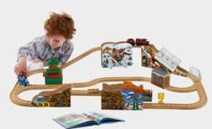 Dustin Comes in First Train Set http://fave.co/2cLC3aK