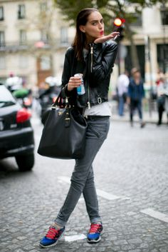 Model Street Style Paris Fashion Week Spring 2014 | Pictures Photo 81