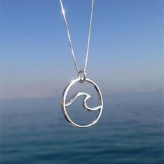 Wave Necklace Surf Necklace Silver Wave Necklace Surf Jewelry Silver Necklace Mermaid Jewelry - September 14 2019 at Ocean Jewelry, Mermaid Jewelry, Mermaid Necklace, Wave Jewelry, Dolphin Jewelry, Beach Jewelry, Surf Necklace, Layer Necklace, Necklace Chain
