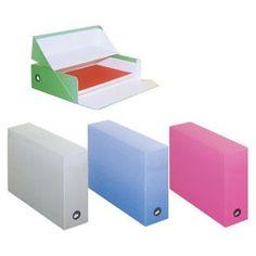 Boîte à archives Fast boîte de transfert Pastel - Bleu Boîte de transfert Pastel - Bleu