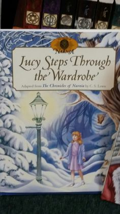Lucy Steps Through The Wardrobe - Children's book. Booth 238