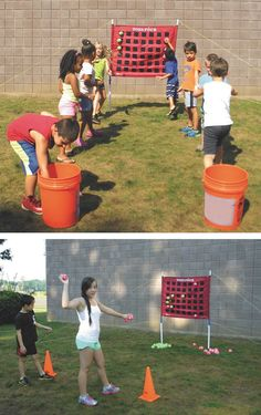 Learn 5 Different Ways To Use This Toss Four Game For Physical Education Class Or General