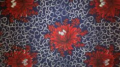 African Dutch Wax Print Fabric