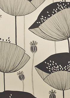 Poppy wallpaper from MissPrint