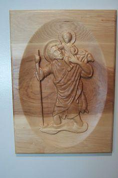 St. Christopher, $100, plus shipping Saint Christopher, Lion Sculpture, Statue, Ebay, Art, Art Background, Kunst, Performing Arts, Sculptures