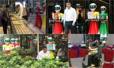 Body guards are passe – Moving around with Robot maids is the new status symbol in China