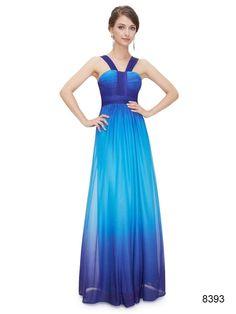 美しいブルーのエレガントロングドレス - ロングドレス・パーティードレスはGN|演奏会や結婚式に大活躍!