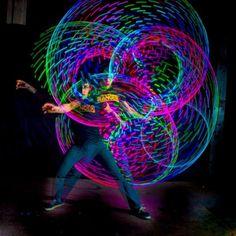 Brad Goldberg and his Phoenix Hoop Led Hula Hoop, Hoop Dreams, Pure Fun, Flow Arts, Aerial Silks, Hippie Art, Picture Video, Heavenly, Psychedelic