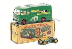 Lesney Racing Car Transporter - Major Pack