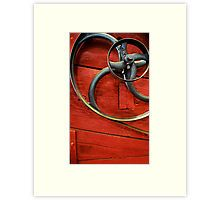 spin me right round Matted Print by Mark Malinowski